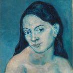 Пабло Пикассо. Голова женщины. 1903
