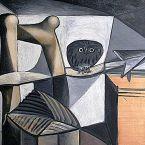 Пабло Пикассо. Сова в интерьере. 1946
