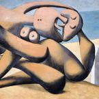 Пабло Пикассо. Фигуры на берегу моря (Поцелуй). 1931
