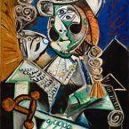 Пабло Пикассо. Матадор с сигарой. 1970