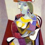 Пабло Пикассо. Портрет Марии-Терезы. 1937