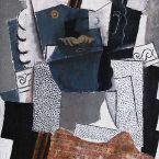Пабло Пикассо. Мужчина с усами. 1914