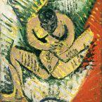Пабло Пикассо. Маленькая сидящая обнаженная. 1907