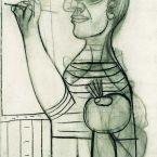 Пабло Пикассо. Автопортрет. 1938