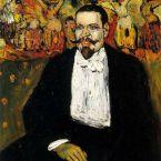 Пабло Пикассо. Портрет Гюстава Коко. 1901