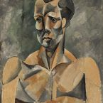 Пабло Пикассо. Бюст человека (Cпортсмен). 1909