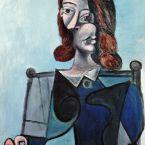 Пабло Пикассо. Бюст женщины в шляпе. 1941