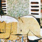 Пабло Пикассо. Лежащая обнаженная. 1955