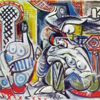 Пабло Пикассо. Алжирские женщины, версия A (1). 13 декабря 1954