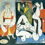 Пабло Пикассо. Алжирские женщины, версия H (8). 24 января 1955 ($7,2 млн)
