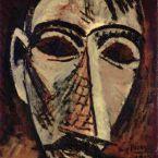 Пабло Пикассо. Голова мужчины. 1907