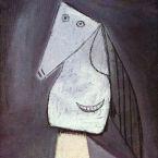 Пабло Пикассо. Голова улыбающейся женщины. 1943