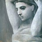 Пабло Пикассо. Портрет женщины с поднятыми руками. 1922