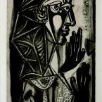 Пабло Пикассо. Женщина у окна. 1952