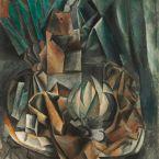 Пабло Пикассо. Веер, солонка, дыня. 1909