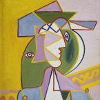 Пабло Пикассо. Женщина в шляпе (Мари-Терез Вальтер). 1934
