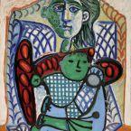 Пабло Пикассо. Материнство. 1948