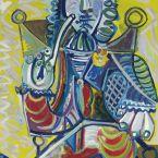 Пабло Пикассо. Человек с трубкой. 1968 ($16,8 млн)