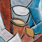 Пабло Пикассо. Горшки и лимон. 1907