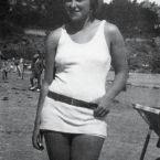 Мария-Тереза Вальтер на пляже, Динар, август 1928