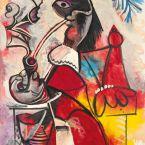 Пабло Пикассо. Мушкетер с трубкой. 1969 ($30,9 млн)