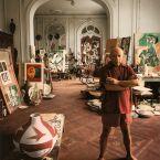 Пабло Пикассо, вилла Калифорния, Канны 1956. Арнольд Ньюман, фото 3