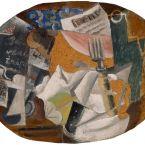 Пабло Пикассо. Харчевня (Ветчина). 1914