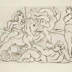 Пабло Пикассо. Сюита Воллара (072). Цирк. 1933