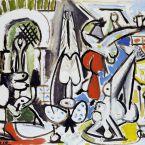 Пабло Пикассо. Алжирские женщины, версия C (3). 28 декабря 1954