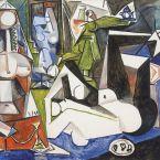 Пабло Пикассо. Алжирские женщины, версия N (14). 12 февраля 1955