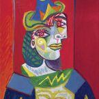 Пабло Пикассо. Бюст женщины (Женщина в сеточке для волос). 1938 ($67,36 млн)
