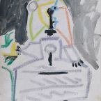 Пабло Пикассо. Менины (Инфанта Маргарита Мария). Интерпретация № 11. 28 августа 1957