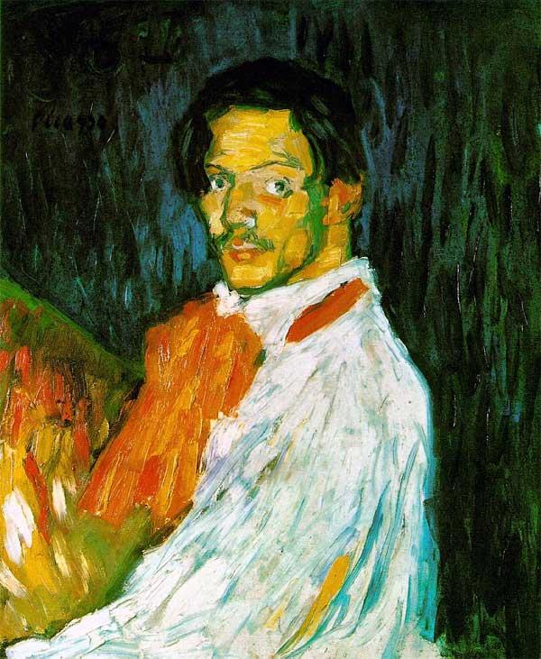 Картина Пабло Пикассо. Автопортрет Я, Пикассо. 1901 ($47,8 млн)