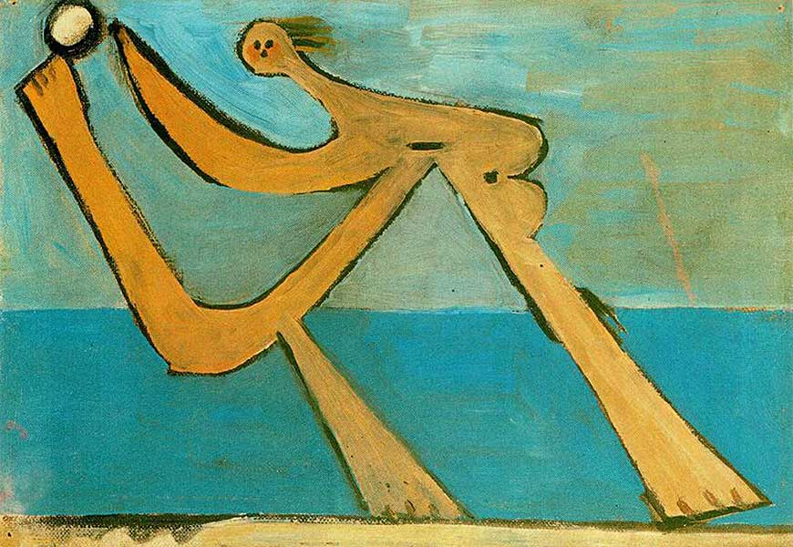 Pablo Picasso, Bather, 1928