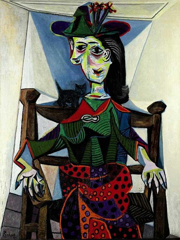 Pablo Picasso Dora Maar au chat.