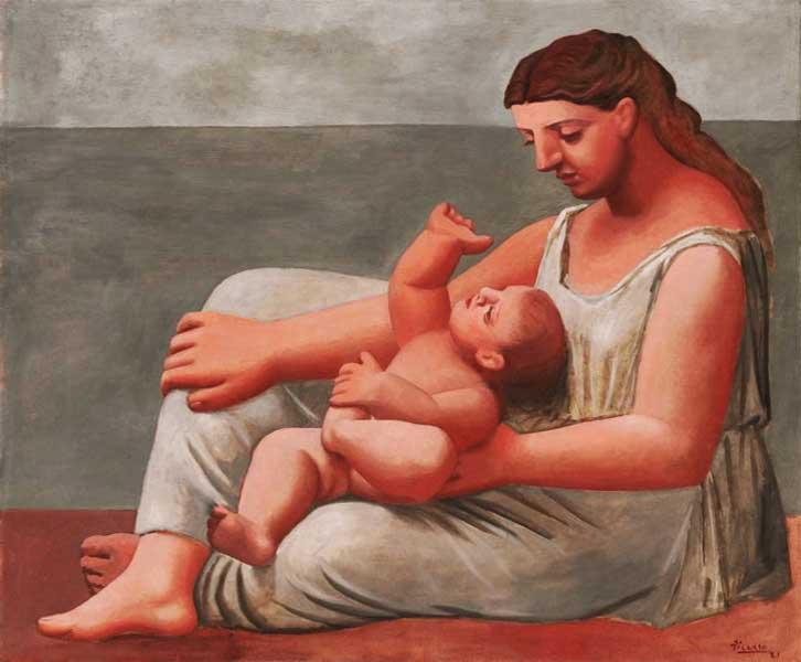 Картина Пабло Пикассо. Женщина