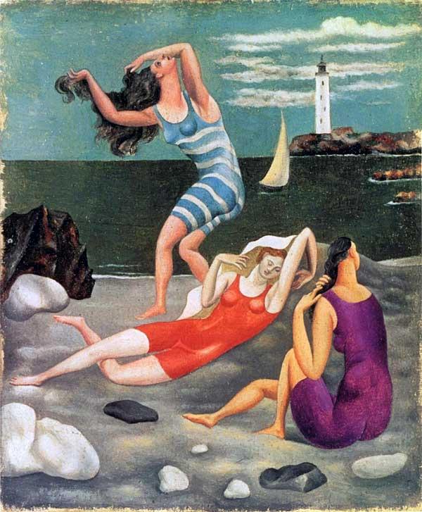 Pablo Picasso, Les baigneuses, 1918