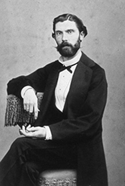 Отец Пабло Пикассо. Фото, ок. 1870