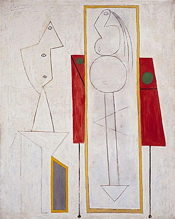 Картина Пабло Пикассо. Студия. 1928
