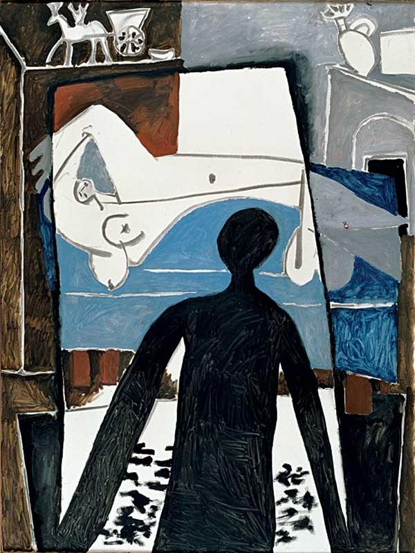 Картина Пабло Пикассо. Тень. 1953