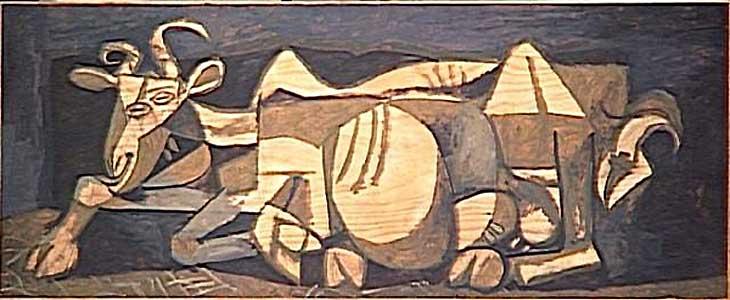 Картина Пабло Пикассо. Коза. 1950