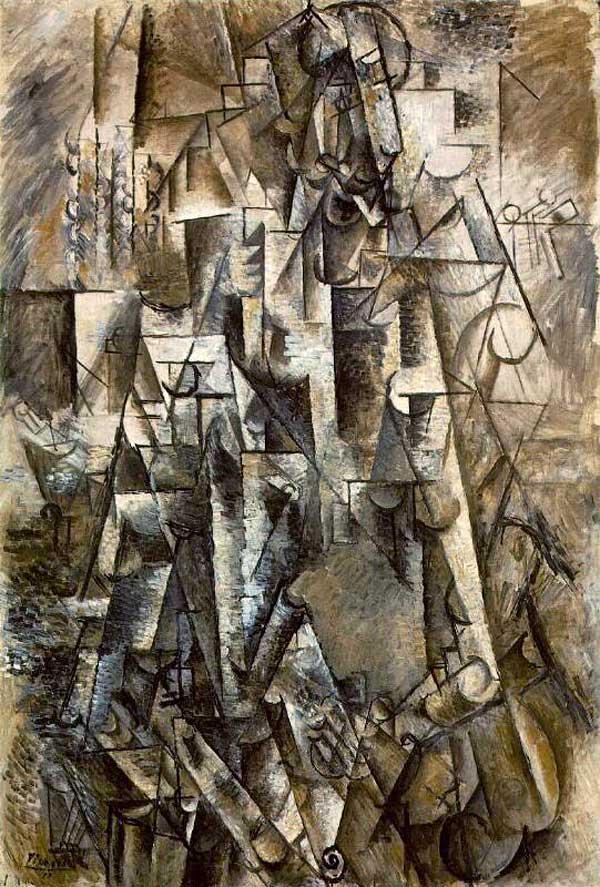 Картина Пабло Пикассо. Поэт. 1911