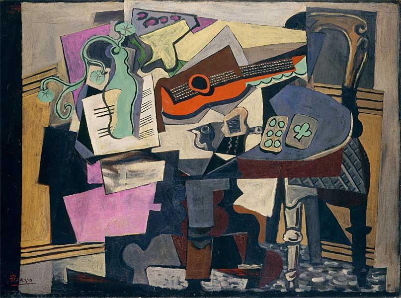 Картина Пабло Пикассо. Натюрморт. 1918