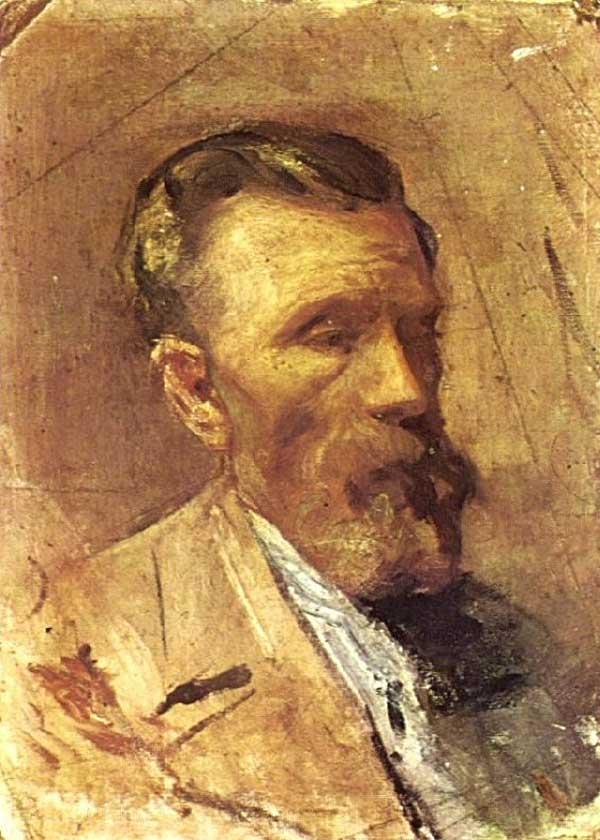 Картина Пабло Пикассо. Портрет отца художника. 1896