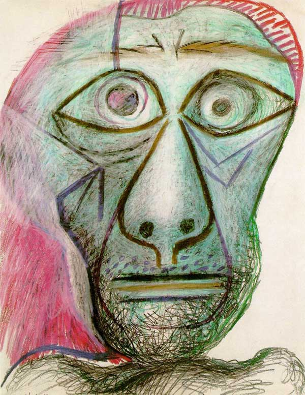 Пикассо Автопортрет 1972