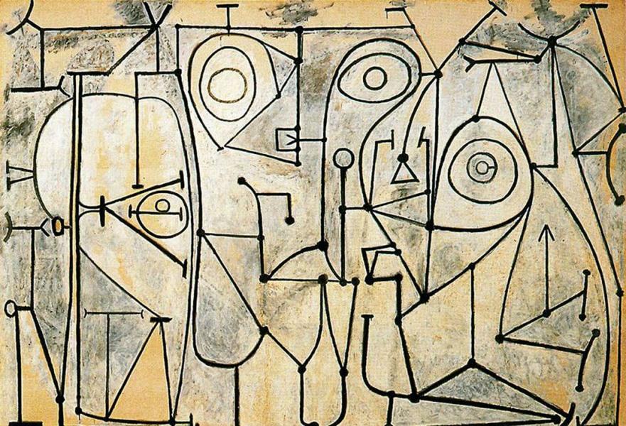 Картина Пабло Пикассо. Кухня. 1948