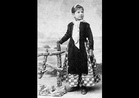Сестра Пабло Пикассо, Лола. Малага. Фото ок. 1892