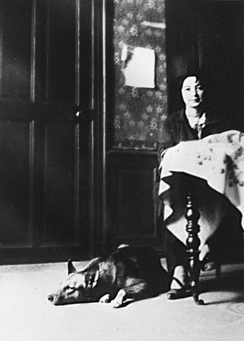 Марсель Умбер (Ева Гуэль). Фото, ок. 1912