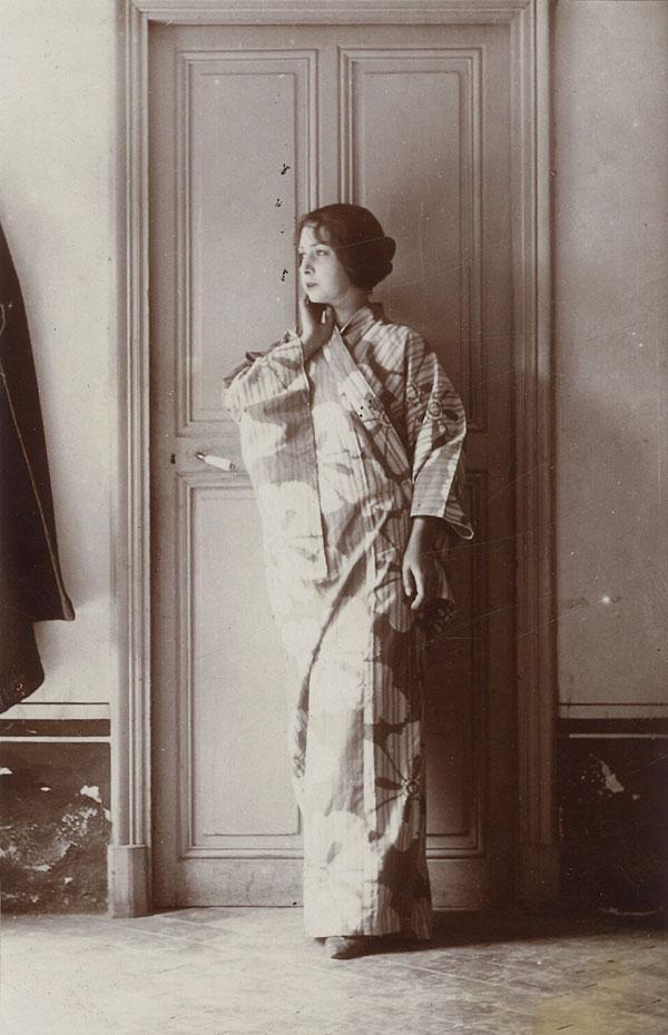 Марсель Умбер (Ева Гуэль). Фото, 1914