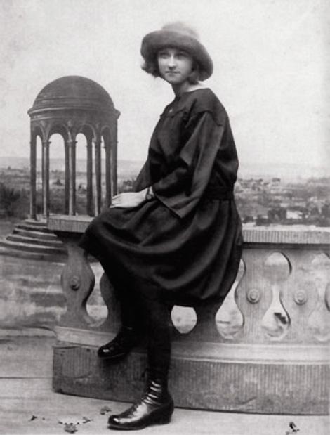 Мария-Тереза Вальтер. Фото, ок. 1927